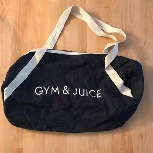 Private Party Gym Bag - Gyn & Juice